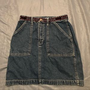 Tommy Hilfiger jeans skirt like this look size 8